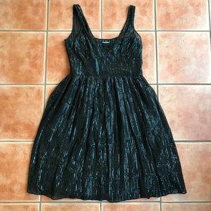 Calvin Klein Black Sequin Cocktail Party Dress 12